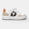 SNEAKER DIAMOND - White, Off White, Preto & Orange