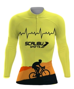 CAMISA MANGA LONGA BIKE FEMININA SCALIBU SPORTS na internet