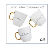 Caneca Porcelana Words 300ml - comprar online