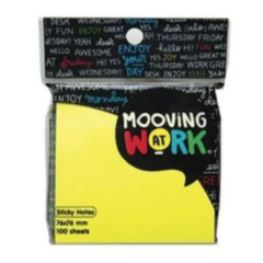 Mooving Sticky Notes 100 Hojas 50x75mm