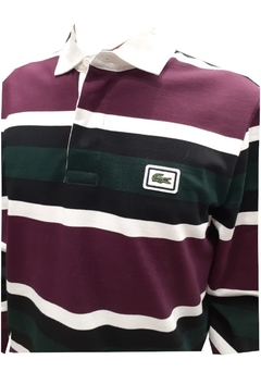 Chomba Rugby Raya Ancha Ml Lacoste (7374) - comprar online
