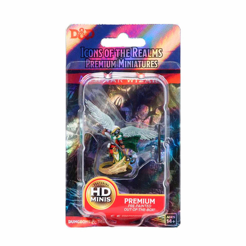 D&D: Icons of the Realms - Premium Figures – Aasimar Female Wizard