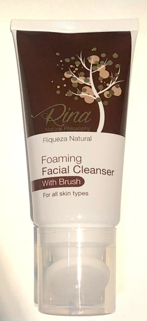 Foaming Facial Cleanser with Brush