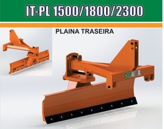 Plaina Traseira modelo IT-PL 1500