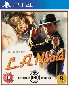 L A Noire: Remastered - Playstation 4