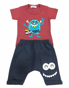 Conjunto Party Monster - Trikids