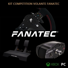 KIT STARTER COMPETITION WRC FANATEC PARA XBOX/PC