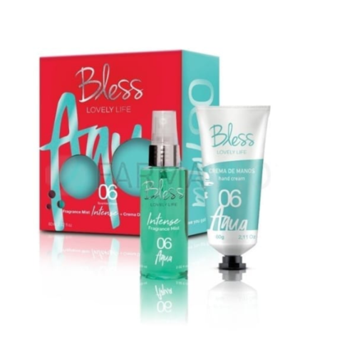Bless Lovely Life Gift Intense | Fragance Mist Intense (60 ml) + Crema de manos 60 gr)