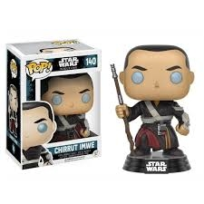 FUNKO POP RARO STAR WARS CHIRRUT IMWE 140