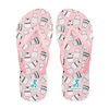 Luisa Mell - Chinelo Cartoon Cats - Tira Slim Rosa
