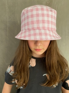 Bucket Hat Vichy - Kika Pagnot Kids Accessories