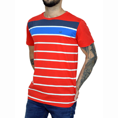 Remera Sailing Stripes - Código 10041-9
