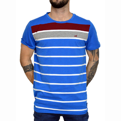 Remera Sailing Stripes - Código 10041-9 - Mistral
