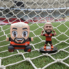 Kit Exclusivo Flamengo Almofada Decorativa Gabigol 25 cm + Mini Ídolo