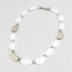 COLLAR LUNA CRECIENTE- BLANCO