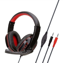 Auriculares Gamer Soyto Sy755 Pc Luces Led 2 jack 3.5m