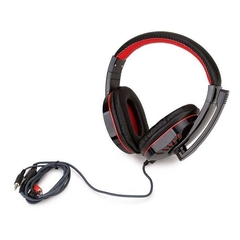 Auriculares Gamer Soyto Sy755 Pc Luces Led 2 jack 3.5m - bgdigital