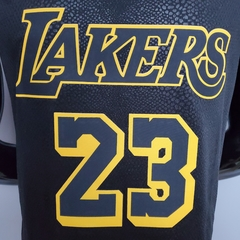 Camisa NBA Los Angeles Lakers Mamba James #23 Nike na internet