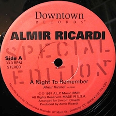 Almir Ricardi ‎– A Night To Remember