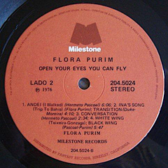 Flora Purim ‎– Open Your Eyes You Can Fly - Promo Only Djs