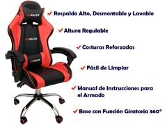 Sillon Gamer Reclinable - 5923 en internet
