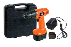 Taladro atornillador Black+Decker CD121K