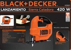 Sierra caladora Black+Decker KS501 en internet