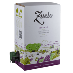 Aceite de Oliva Extra Virgen Zuelo Intenso x 2 litros Bag in Box