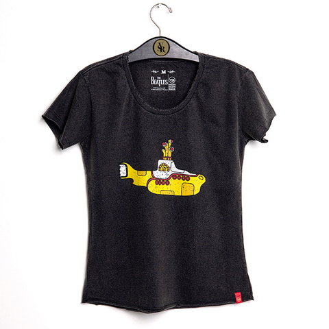 Camiseta VSR The Beatles Yellow Submarine - Feminino Comfort