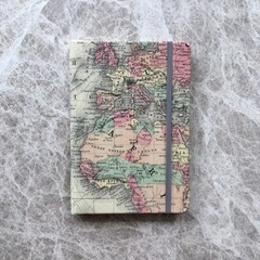 Notebook / Cuaderno World Map