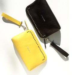 GIGI SMALL CLUTCH YELLOW - MARS+ZORBA