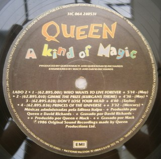 Queen - A Kind Of Magic [LP] - comprar online