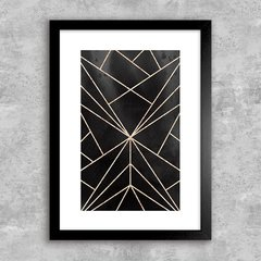 Poster Geometric Abstract Foil 6