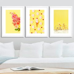 Kit Pastel Yellow Trio - comprar online