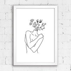 Poster Self Love Line Art - comprar online