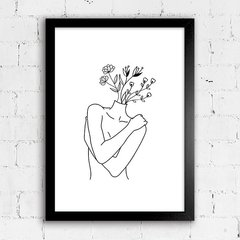 Poster Self Love Line Art