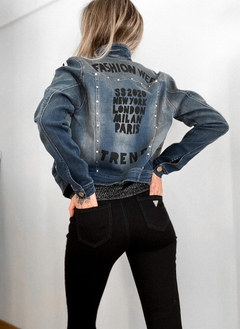 Campera Jeans Fashion - ROSH MODA