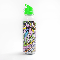 Botella Zentangle colores