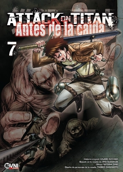 ATTACK ON TITAN: ANTES DE LA CAIDA 07