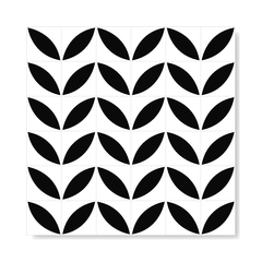 "M² ""Molde"" Black Ceramic Tiles - online store"