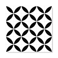 "Image of M² ""Molde"" Black Ceramic Tiles"
