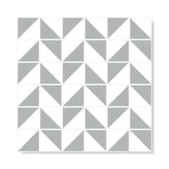 "Image of M² ""Raiz"" Grey Ceramic Tiles"