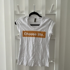 Remera Entallada Choose (descontinuada)