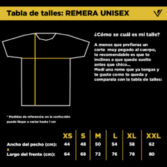 Remera Unisex Bs As (descontinuada) - comprar online