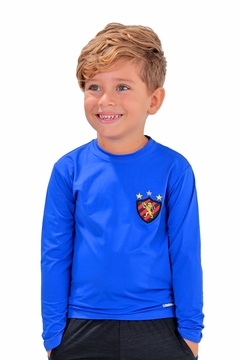 CAMISETA ML LISA SPORT AZUL ROYAL MENINO 00645