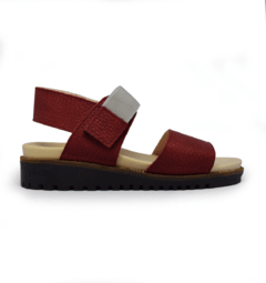 SANDALIAS PEPPER BORDO
