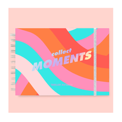 "Diario Libro Bitacoras de Viajes ""Collect Moments"""