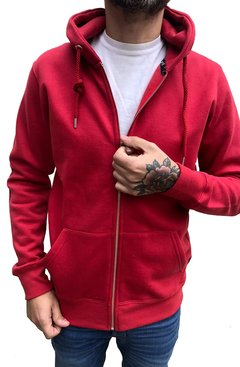 CAMPERA CAPUCHA RED