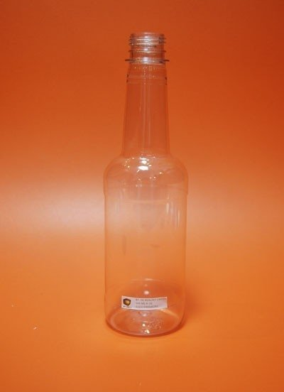BOTELLA DE 500 ML RON PET CRISTAL R-28