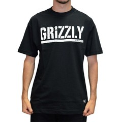 Camiseta Grizzly Stamp Blk